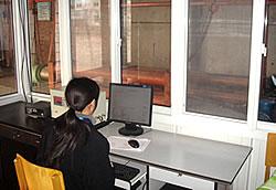 电脑控制静载试验台上的锚固性能测试